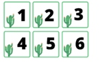 Cactus calendar cards