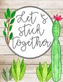 Cactus posters,  watercolor cactus, cactus decor, cactus q