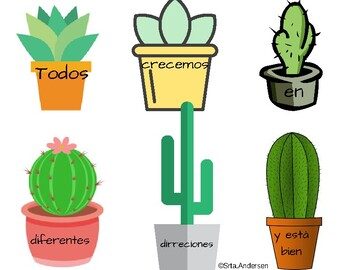 Cactus Quotes Worksheets & Teaching Resources | Teachers Pay