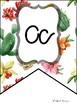 Cactus/succulent Alphabet Bunting Banner