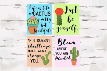 Cactus theme pictures and posters, Cactus theme classroom, classroom decor