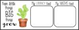 Cactus themed Goal Mat