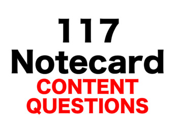 Caddie Woodlawn 117 Content Questions Whiteboard Game