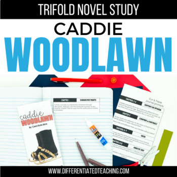 Caddie Woodlawn Foldable Novel Study Unit