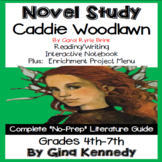 Caddie Woodlawn Novel Study & Enrichment Project Menu