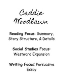 Caddie Woodlawn Student Notes