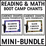 Reading and Math Strategies Posters and PPTs