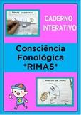 Caderno Interativo - Consciência Fonológica - Só RIMAS