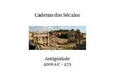 Caderno dos Séculos - Antiguidade