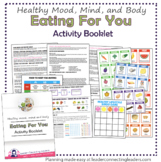Cadette Girl Scout Eating For You Activity Booklet
