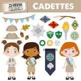 Cadettes Clip art Scout Girl Clip art  Explorer Clip art G