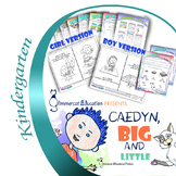 Personalized Picture Book with Reading Literacy Activities