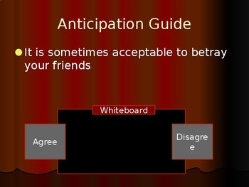 Julius Caesar Background Info PowerPoint and Anticipation Guide