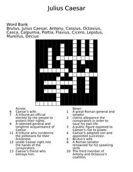 Caesar Crossword