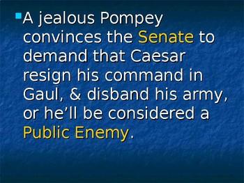 Caesar and Civil War