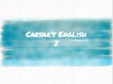 Caesar's English I Digital Vocabulary Notebook