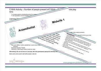 Caesarean Birth & Induction Activities Bundle
