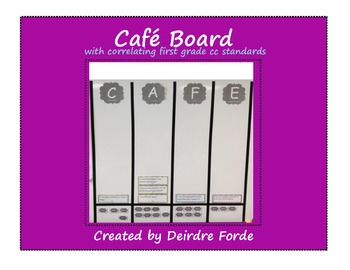 Cafe Board First Grade