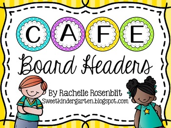 Cafe Board Headers