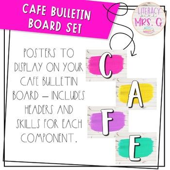 Cafe Bulletin Board - Bright Farmhouse Theme   White Shiplap