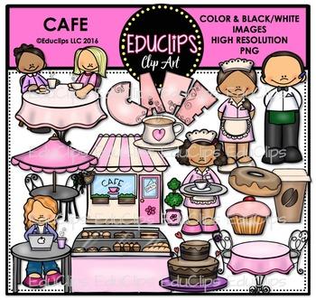Café Clip Art Bundle {Educlips Clipart}