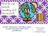 Cafe' Expand Vocabulary Strategies Interactive Notebook Fo