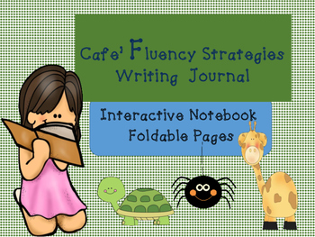 Cafe Fluency Strategies Interactive Notebook Foldables