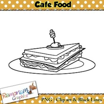 Cafe Food Clip art