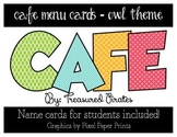 Cafe Menu Cards - Cute Owl Theme