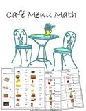 Cafe Menu Math