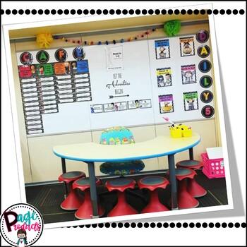 Cafe Menu- Primary & Melonheadz