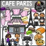 Cafe Paris Clip Art Bundle {Educlips Clipart}