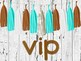 Cafe Pop VIP Signs