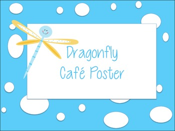 Reading Strategies Poster Dragonfly