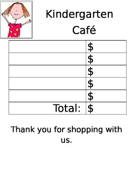 Cafe Price List