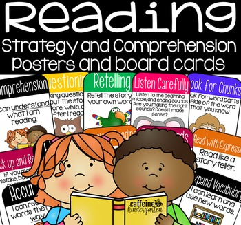 Reading Strategy Posters and Reading Board Cards