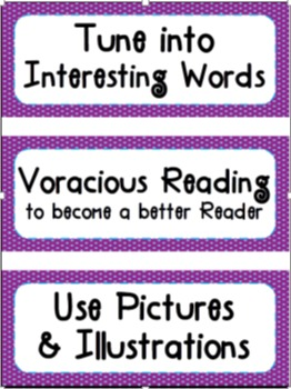 Reading Strategy Lesson Cards 4th Grade
