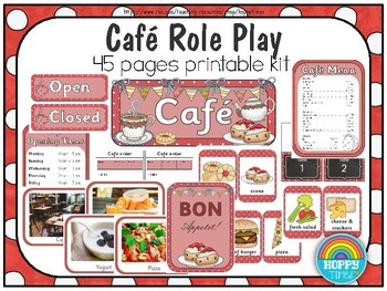 Cafe Dramatic Role Play (UK version)
