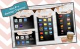 Cafe Theme Desktop Organizer (EDITABLE)