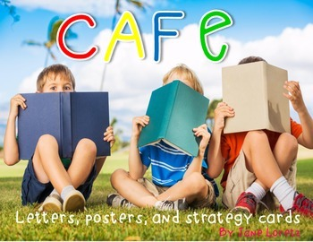 Cafe with real pictures (letters, posters and strategy cards)