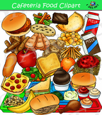 Cafeteria Food Clipart - Build A Lunch Tray Clip Art