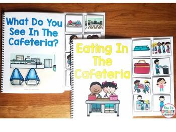 Cafeteria Interactive Books