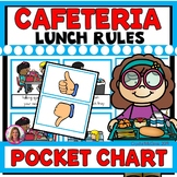 Cafeteria Lunchroom Rules Pocket Chart Sort (Back to School)