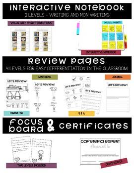 Cafeteria Manner- Behavior Basics Program for Special Education
