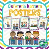 Cafeteria Manners Poster Set