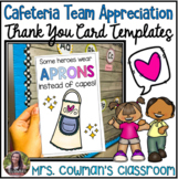 Cafeteria Worker Appreciation Thank You Cards