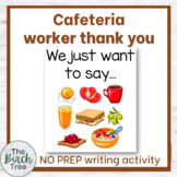 Cafeteria worker thank you