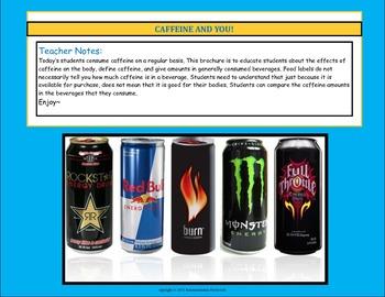 Caffeine Brochure Educational