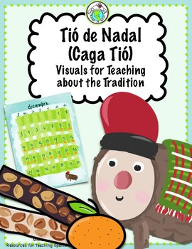 Caga Tió Visuals for Teaching this Christmas Tradition from Spain Tió de Nadal