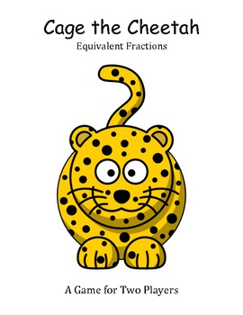 Cage the Cheetah - Equivalent Fractions Game